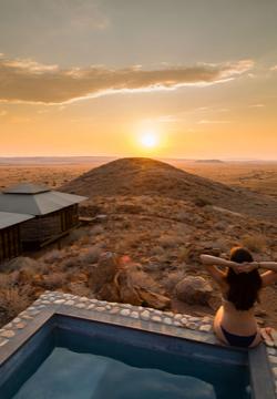 Namib desert sundowner