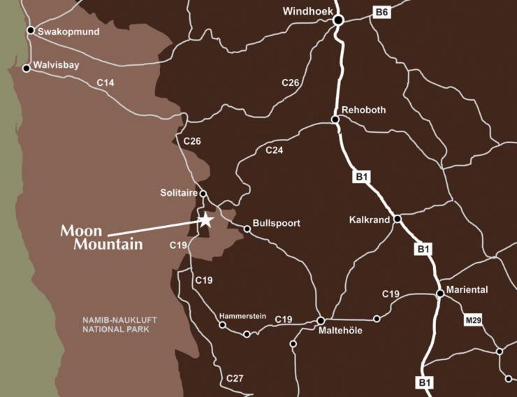 Roadmap - Moon Mountain Lodge